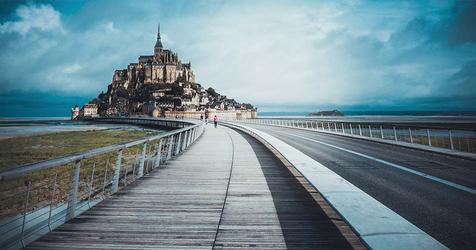 Tourisme en Normandie ou au Mont Saint-Michel