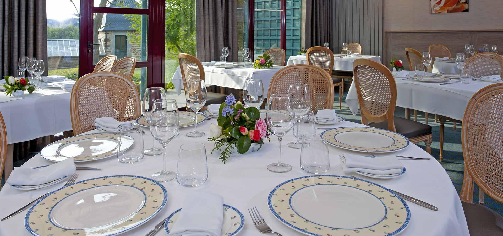 Restaurant de l'Auberge de la Sélune à Ducey