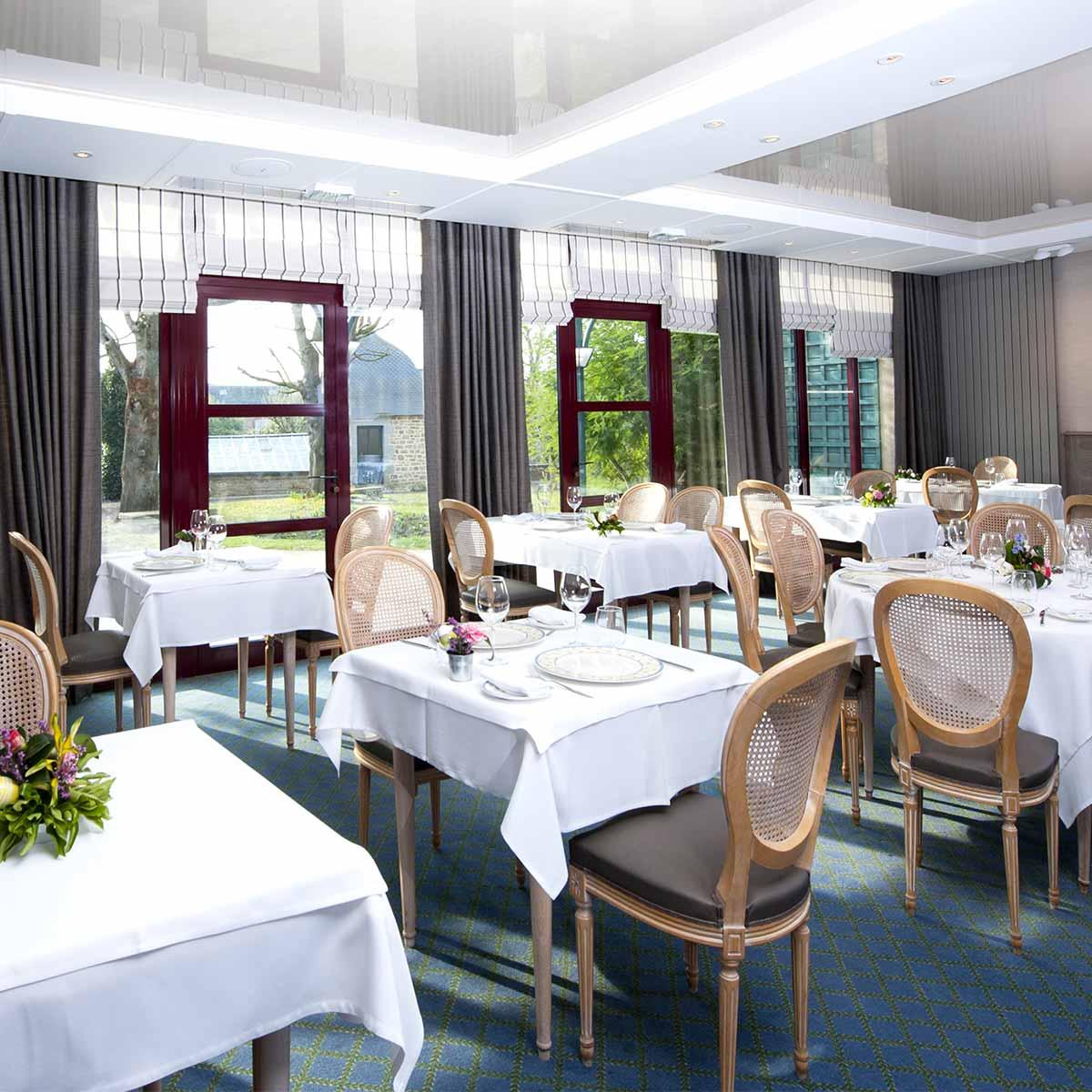Présentation du restaurant de l'Auberge de la Sélune